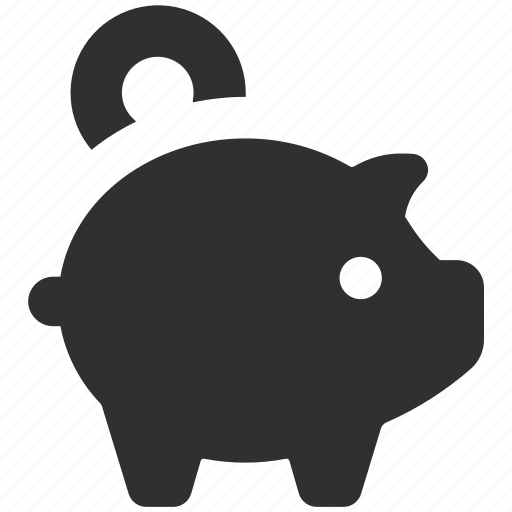 bank, piggy, piggy bank, save money, savings icon