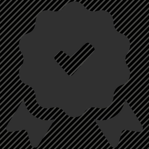 Award, badge, premium quality, quality badge, reward, ribbon, ribbon badge icon - Download on Iconfinder