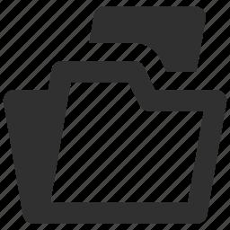 file folder, files, folder, folders icon