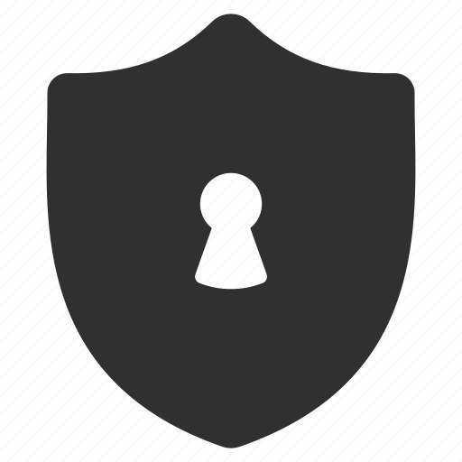 locked, privacy, protection, safety, secure, security, shield icon