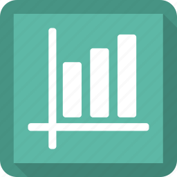 bar chart, chart, office, presentation icon