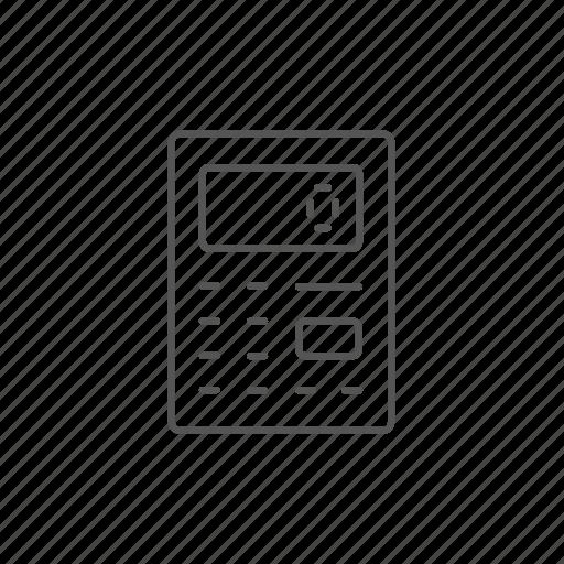 calculation, calculator, economy, electronic, financial, math, zero icon