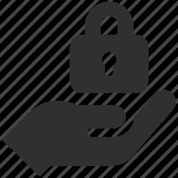 access, lock, no access, privacy, security icon