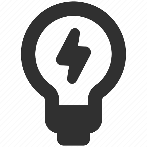 bolt, brainstorming, bulb, business idea, idea, lighting bulb icon