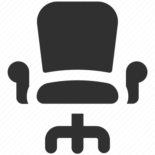 business chair, chair, office chair, seat, stool, swivel chair icon