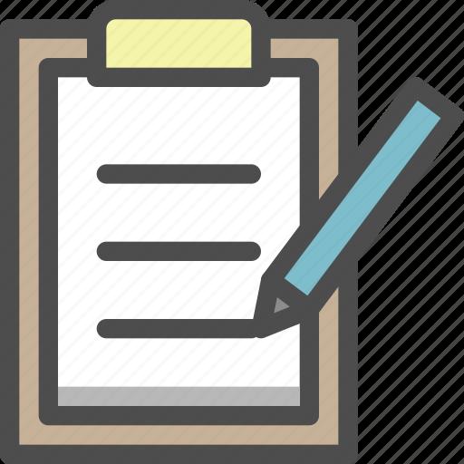 checklist, clipboard, list, menu, task icon