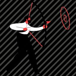 business, target, arrow, bullseye, goal, objective, planned