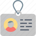 access, badge, card, id, identification, security icon