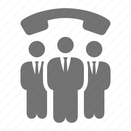 businessmen, call, contacts, group, phone, phone number, team icon