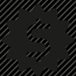 dollar, sign icon