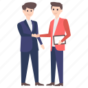 agreement, business proposal, deal, fellowship, handshake, partnership icon