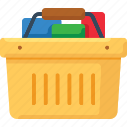 basket, buy, full, shop, shopping icon