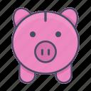 bank, deposit, finance, investment, money, piggy, piggy bank
