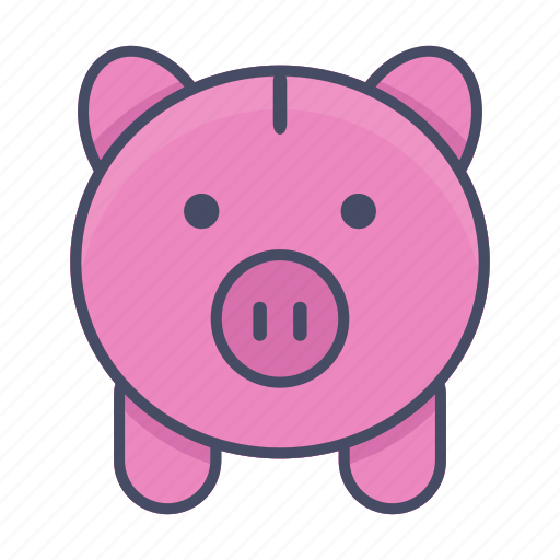bank, deposit, finance, investment, money, piggy, piggy bank icon