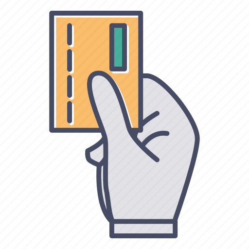 business, cutaway, hand, pass, payment icon