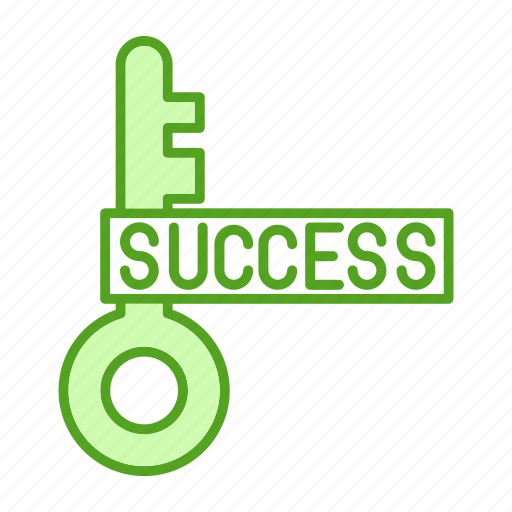 bussines, finance, key, marketing, success icon