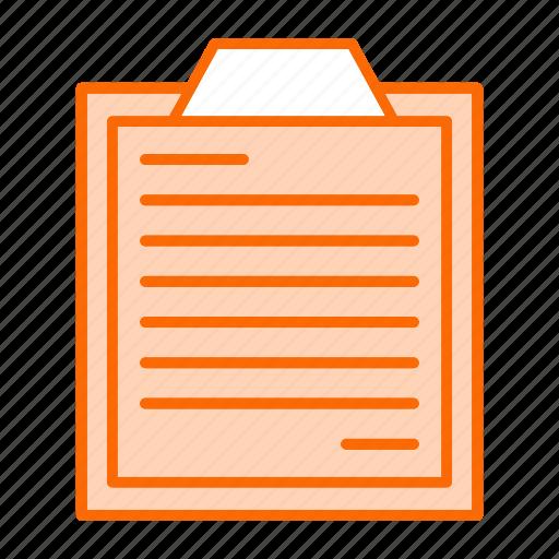 bussines, finance, list, marketing, orders, survey icon