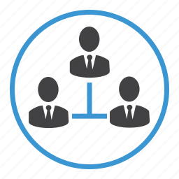 business, chat, communication, connections, hirearchy, network, people icon