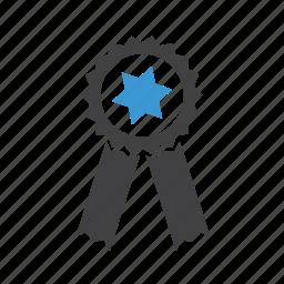 award, medal, prize, quality, qulity, reward, ribon icon