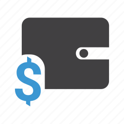 cash, dollar, finance, money, payment, shopping, wallet icon