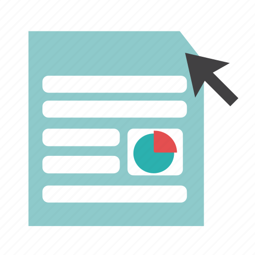 analyze, check, document, papper, read, report icon