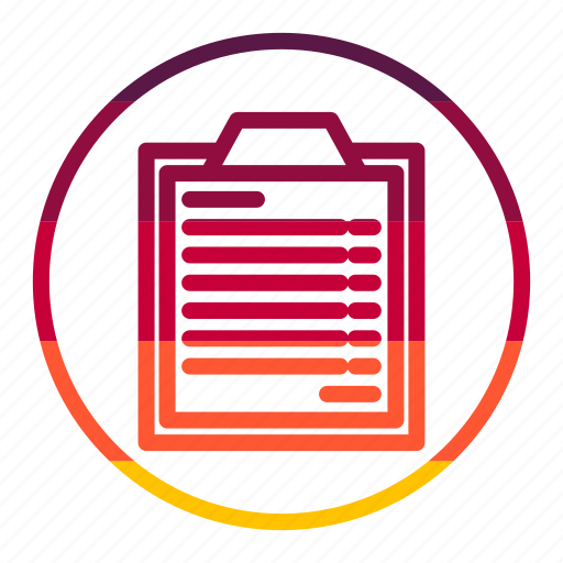 check, checklist, list, survey icon