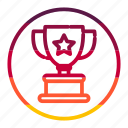 award, christmas, prize, trophy, winner icon