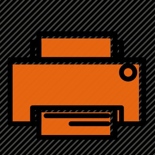 business, file, office, persentation, printer, technologi, work icon