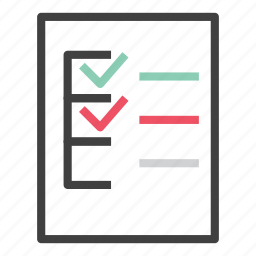 analytics, business, checklist, finance, form, report, to do icon