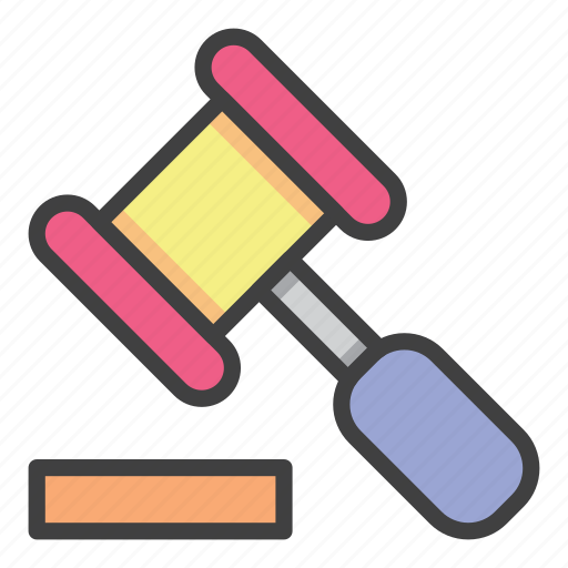banking, building, economy, hammer, judge, law, office icon