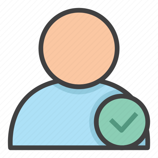 account, employee, hired, office, person, profile, user icon