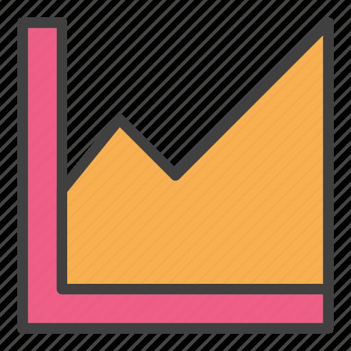 analysis, analytics, exponential, finance, graph, grow, statistics icon