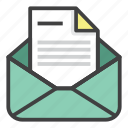 business, email, envelope, finance, form, letter, message icon