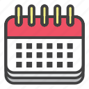 calendar, date, day, event, month, office, schedule icon