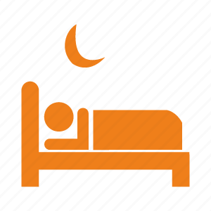 accommodation, bed, building, hotel, service icon