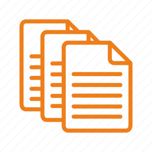 details, documents, file, format, paper icon