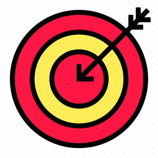 Arrow, bussiness, goal, objective, target icon - Download on Iconfinder