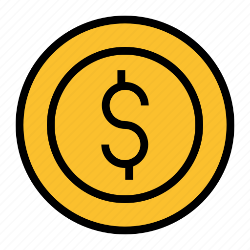 Bussiness, coin, dollar, money, pay, penny icon - Download on Iconfinder