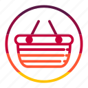 bag, basket, business, seo icon