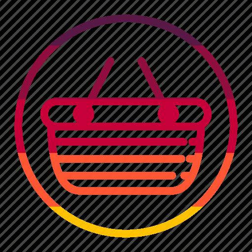 bag, basket, business, seo icon