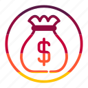 bank, banking, money, payment icon