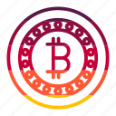 bitcoin, currency, financial, money, payment icon