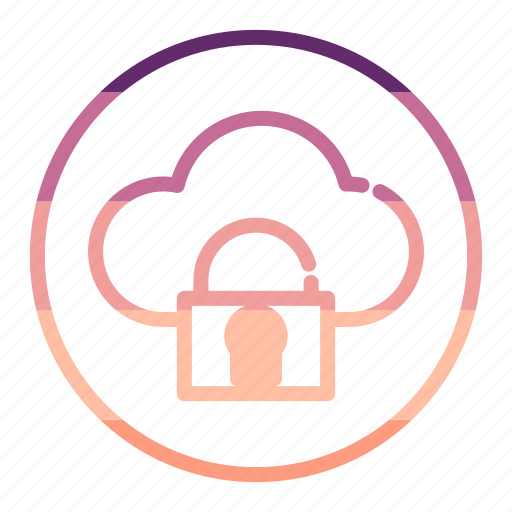 cloud, protection, safe, security, storage icon