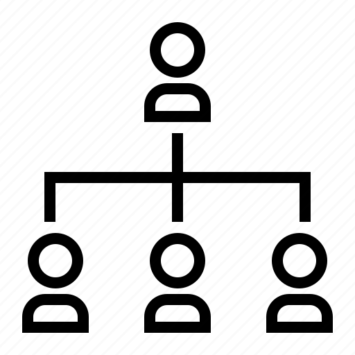 bussiness, hierarchy, organization, people, structure icon