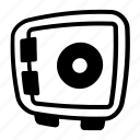 locker, money, safe, vault icon icon