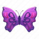 butterfly, floral, flower, purple, retro, tattoo icon