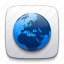 browser, communication, connection, earth, global, globe, internet, network, planet, web, world icon