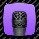 dictaphone, mic, microphone, record, recording, sound, talk, voice, volume icon