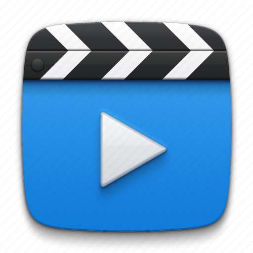 cinema, film, media, movie, multimedia, play, player, slate board, video icon