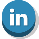 buttonz, linkedin icon